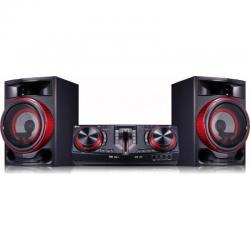 Mini Hi-Fi LG CJ87 Pro DJ Party Maker black